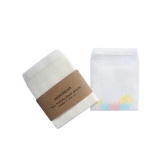 Mini Square Glassine Envelopes 65mm x 65mm [2.5 x 2.5 inches]