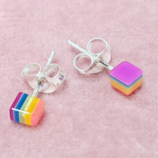 cute colourful stud earring blind bag