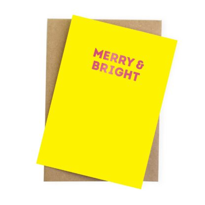 colourful eco friendly christmas cards